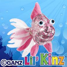 Lil' Kinz Pink Glitter Fish